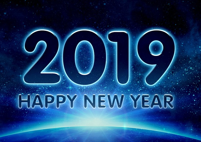 2019 - happy new year kép a pixabay.com-ról